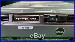 Dell Equallogic PS4110E Storage Array with2xControl Module 17 All Caddies No HDDs