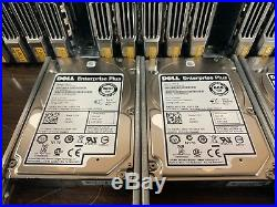 Dell Equallogic PS6100X 14.4TB 24x 600GB 10K SAS SAN Storage Array 2x Type11