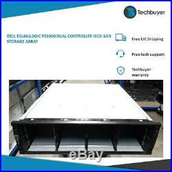 Dell Equallogic Ps3000 Dual Controller Iscsi San Storage Array Ps3000