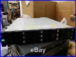 Dell HB-1235 Dell Compellent 12-Bay Storage Array Dual AC Dual Proccessors No HD