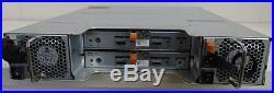 Dell MD1200 16TB sas (8x 2tb SAS)storage array with2x E01M sas cards and 2 PSU
