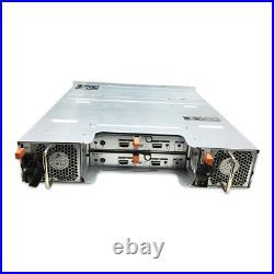 Dell MD1200 PowerVault 12 BAY 3.5 2x EMM 2x PSU NO TRAY NO RAIL