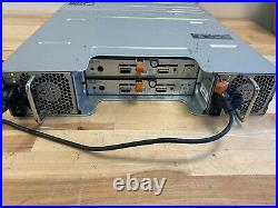 Dell MD1200 PowerVault 12-Slot 3.5 LFF 6Gbps SAS Storage Array - NO DRIVES