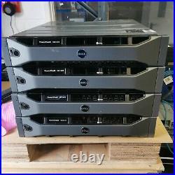 Dell Md1220 Storage Array Dual 3djrj Dual Psu Rails