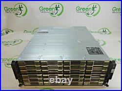 Dell PS6100XV EqualLogic 24-Bay 3.5 4U iSCSI SAN Storage Array with 2x PSUs