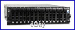 Dell PowerVault MD1000 15-Bay Drive Storage Array DAS 15 x Dell 1TB = 15TB