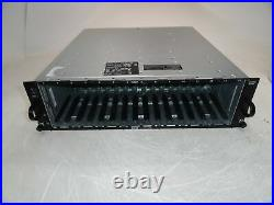 Dell PowerVault MD1000 15-Bay SAS/SATA Hard Drive Storage Array 2x PSU