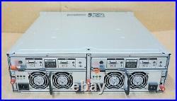 Dell PowerVault MD1000 15x 3.5 SAS Bays 2x SAS Controller Module Storage Array