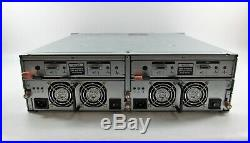 Dell PowerVault MD1000 3U Storage Array Unit Dual SAS Controllers RPS with Caddies