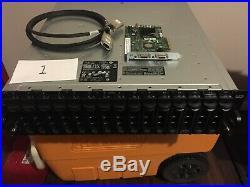 Dell PowerVault MD1000 AMP01 15-Bay SAS/SATA Storage Array PowerEdge SAS 5/E 8c