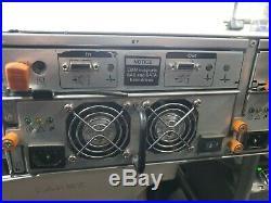 Dell PowerVault MD1000 AMP01 15-Bay SAS/SATA Storage Array -caddy/trays
