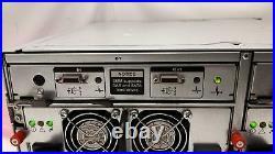 Dell PowerVault MD1000 AMP01 SAS Storage Array 2x PSU 2x AMP01-SIM Controll