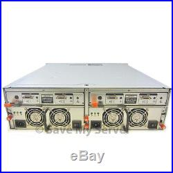 Dell PowerVault MD1000 Storage Array Dual SAS Controllers RPS + 15 Trays