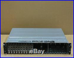 Dell PowerVault MD1120 SAS Storage Array 10x 146Gb 15K Hard Drives 2 Controllers