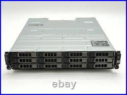 Dell PowerVault MD1200 12-Bay 12x1TB Storage Array with MD12 SAS Controller 3DJRJ