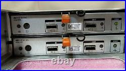 Dell PowerVault MD1200 12-Bay Storage Array with 2xMD12 SAS Controller