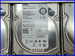 Dell PowerVault MD1200 12-Bay Storage Array with122TB HDD + 2MD12 SAS Controller