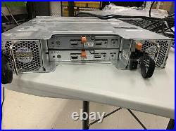 Dell PowerVault MD1200 12x 3TB 7.2K SAS HDD's Dual Controllers
