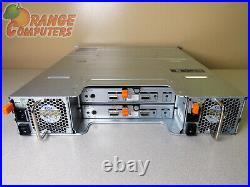 Dell PowerVault MD1200 6Gbps DAS Dual EMM 12x 600GB 15K SAS Storage Array