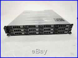Dell PowerVault MD1200 Storage Array 2x 3DJRJ Controllers 2x PSU 0HDD