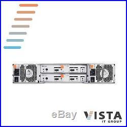 Dell PowerVault MD1200 Storage Array 2x Controllers 2x PSU + 12x Trays + Bezel