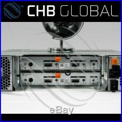 Dell PowerVault MD1200 Storage Array 2x SAS Controller 2x 600W PSU