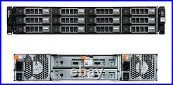 Dell PowerVault MD1200 Storage Array Dual Controller Dual PSU 12x caddies