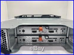 Dell PowerVault MD1200 Storage Array with 12x 2TB 7.2K SAS HDD, 2x 03DJRJ 6GB SAS
