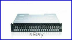 Dell PowerVault MD1220 24-Bay Storage Array 2X CONTROLLER WITH HDD