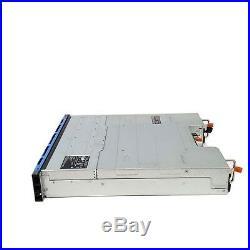 Dell PowerVault MD1220 24 Slot 6Gb SAS Storage Array 2x 3DJRJ EMM Module 2x PSU