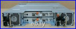 Dell PowerVault MD1220 Dual MD12 6Gbps Controllers and 2x PSU 2 x cables
