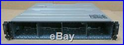 Dell PowerVault MD1220 SAS Storage Array Dual MD12 6Gbps Controllers and 2x PSU