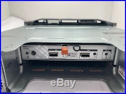 Dell PowerVault MD1220 Storage Array with 24x 300GB 15K SAS, 1x 03DJRJ 6GB SAS