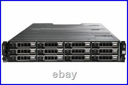 Dell PowerVault MD1400 12x 3.5 CTO Storage Array 2x 12G-SAS-4 Controller 2x PSU