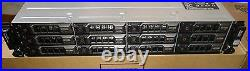 Dell PowerVault MD1400 Storage Array 12x 12TB 12Gb/s 7.2K SAS (144TB Raw)