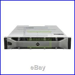 Dell PowerVault MD1400 Storage Array 12x 2TB 7.2K NL SAS 3.5 12G Hard Drives