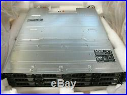 Dell PowerVault MD1400 Storage Array with Storage Controllers 12G-SAS-4, 12x4TB