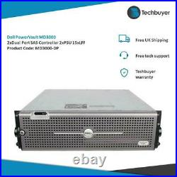 Dell PowerVault MD3000 Chassis With 2DUAL PORT SAS CONTROLLERS 2PSU MD3000
