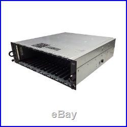 Dell PowerVault MD3000 Storage Array 1x Dual Port SAS Controllers P2GW4 2x PSU