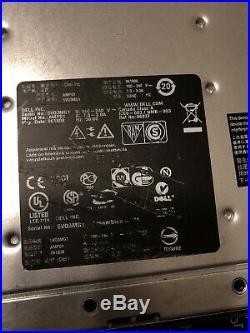 Dell PowerVault MD3000 Storage Array 2x Controllers 2x PSUs 15X caddies
