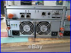 Dell PowerVault MD3000i iSCSI SAS/SATA RAID Storage Array 2x Controller 6x 300GB