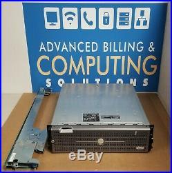 Dell PowerVault MD3000i iSCSI SAS/SATA RAID Storage Array 2x Controller with Rails