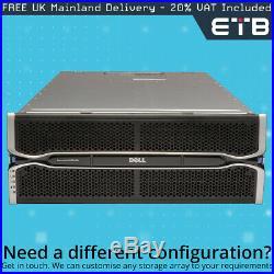 Dell PowerVault MD3060e 60 x 6TB SAS, Dell Enterprise Class Hard Drives, Rails