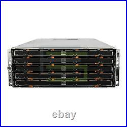 Dell PowerVault MD3060e Storage Array 60x 600GB 15K SAS 3.5 6G Hard Drives