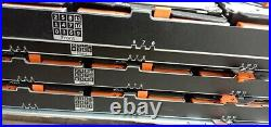 Dell PowerVault MD3060e Storage Array No hdds, has 30 caddies with screws