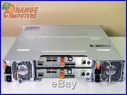 Dell PowerVault MD3200 6Gbps DAS Dual EMM 12x 6TB SAS Storage Array