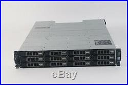 Dell PowerVault MD3200 Direct Attached Storage Array- 12x 3TB SAS 7.2K, 2x N98MP