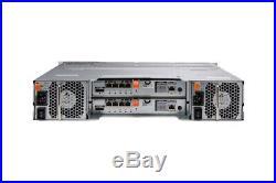 Dell PowerVault MD3200i 6 x 3TB SAS Dell Hard Drives, Rails