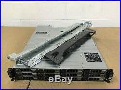 Dell PowerVault MD3200i Storage Array 2x 3TB SAS 4x 2TB SAS 6 x 600GB SAS HDD