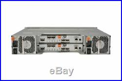 Dell PowerVault MD3220 SAN Storage Array 24x 2.5 Bay Dual 6G SAS Controller